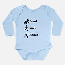 Crawl Walk Karate Body Suit