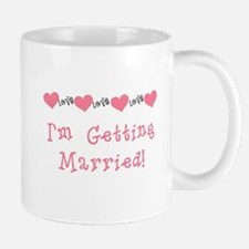 I'm Getting Married (coral) Mug