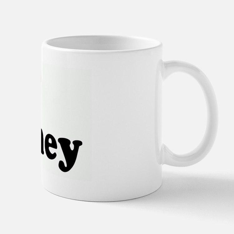 I Love Whitney Small Small Mug