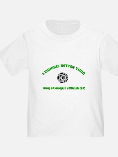Dribble - Blank Green T-Shirt