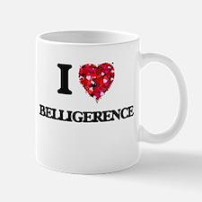 I Love Belligerence Mugs