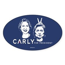 Carly Hillary Bunny Ears Decal