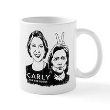 Carly Hillary Bunny Ears Small Mug