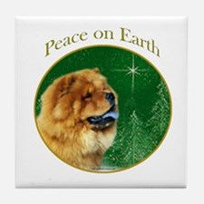 Chow Peace Tile Coaster