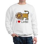 I Love Lions Sweatshirt
