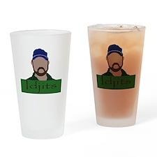 Idjits  Drinking Glass