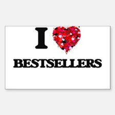 I Love Bestsellers Decal