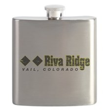 Ski Vail, Riva Ridge Double Black Diamond Ru Flask