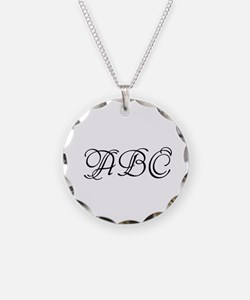 Monogrammed Initials Necklace