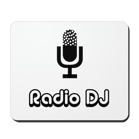 Radio DJ Mousepad