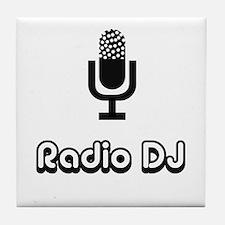 Radio DJ Tile Coaster
