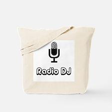 Radio DJ Tote Bag