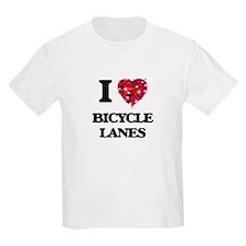 I Love Bicycle Lanes T-Shirt