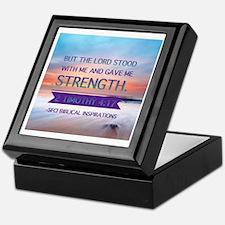The Lord Stood with Me Keepsake Box