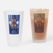 Super Saiyan Pin-up Drinking Glass