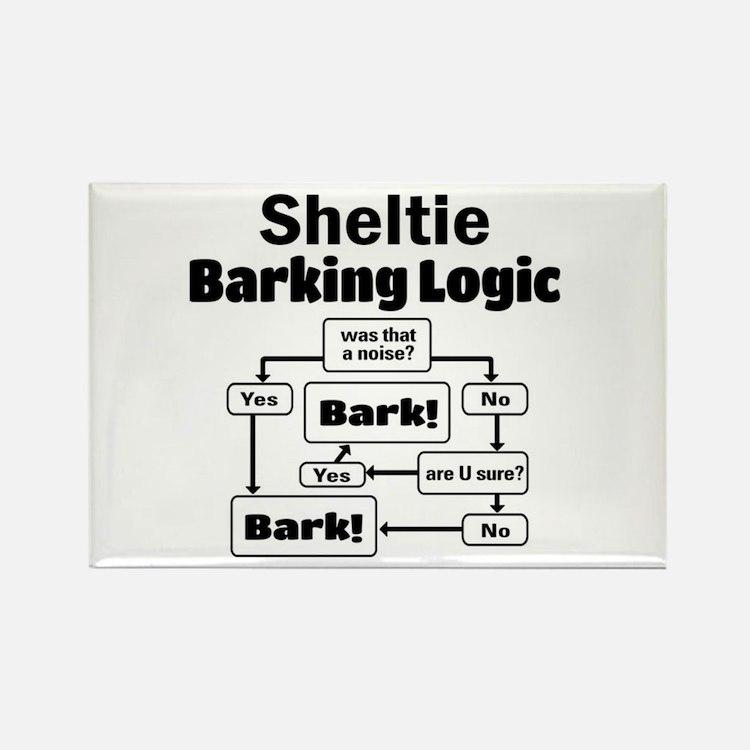 Cute Logic Rectangle Magnet