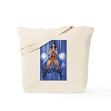 Super Saiyan Pin-up Tote Bag