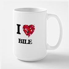 I Love Bile Mugs