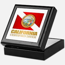 CA Scuba Keepsake Box