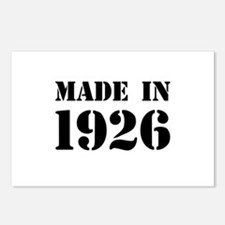 Made in 1926 Postcards (Package of 8)