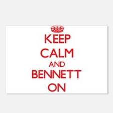Keep Calm and Bennett ON Postcards (Package of 8)