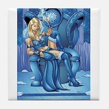 Snow Queen Tile Coaster
