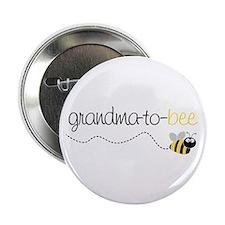 grandma to bee Button