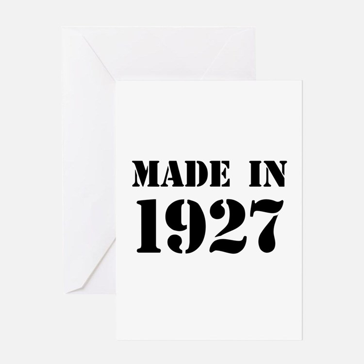 Year You Were Born Greeting Cards
