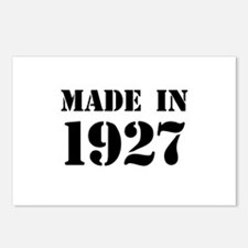 Made in 1927 Postcards (Package of 8)