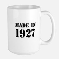 Made in 1927 Mugs