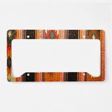 Indian blanket License Plate Holder