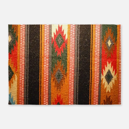 Indian blanket 5'x7'Area Rug
