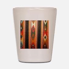 Indian blanket Shot Glass
