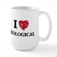 I Love Biological Mugs