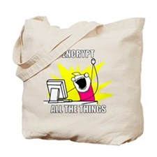 Cute Encryption Tote Bag