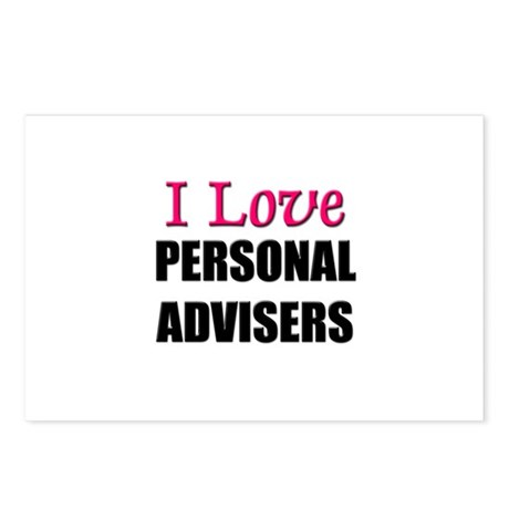 I Love PERSONAL ADVISERS Postcards (Package of 8)