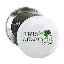 irish grandma to be Button