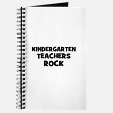 Kindergarten Teachers Rock Journal