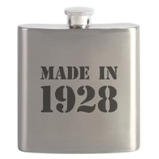 Made in 1928 Flask