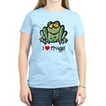 I Love Frogs Women's Light T-Shirt