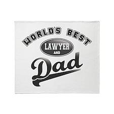 Best Lawyer/Dad Throw Blanket