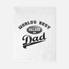 Best Mailman/Dad Twin Duvet