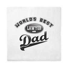 Best Lawyer/Dad Queen Duvet
