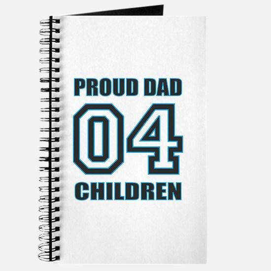 Proud Dad 4 Kids Journal