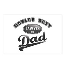 Best Lawyer/Dad Postcards (Package of 8)