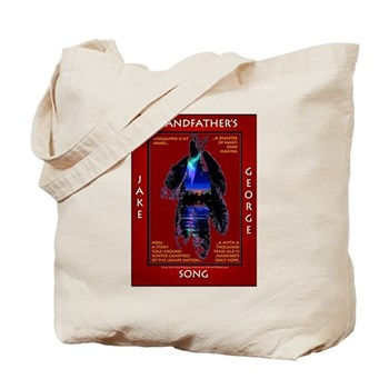 Grandfather's Song Tote Bag