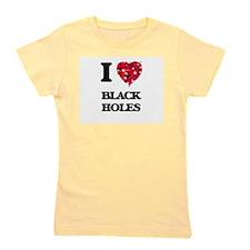 I Love Black Holes Girl's Tee