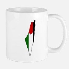 Palestine Flag Map Mugs