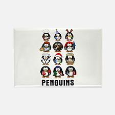 Penguins Magnets