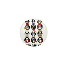 Penguins Mini Button
